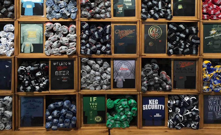 Gift Shop | Miller Brewery Tours