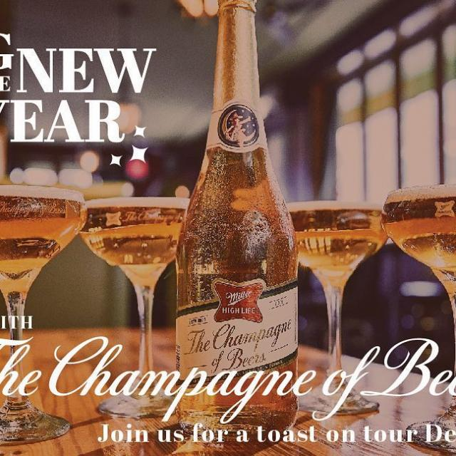 Champagne of Beers event in December. Visit millerbrewerytour.com and click on Special Events for details.