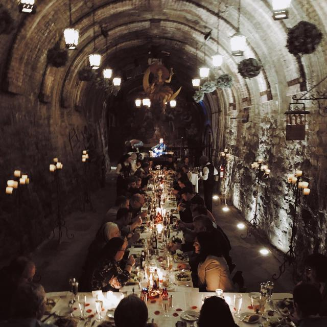 🍻 Cheers to another successful caves beer pairing dinner! Interested in dining down below? Keep an eye out for our next delicious dinner with @shullyscuisine